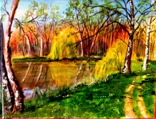 Peinture en plein air