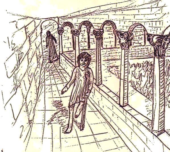 """illustration pour """"l'ange déchu"""", chapitre 2"""