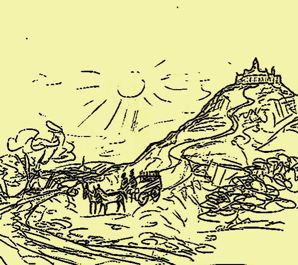 l'ange déchu, chapitre 5 : une carriole descend vers la Garonne