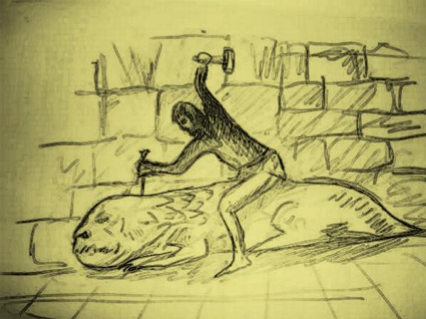 l'ange déchu, illustration chapitre 13