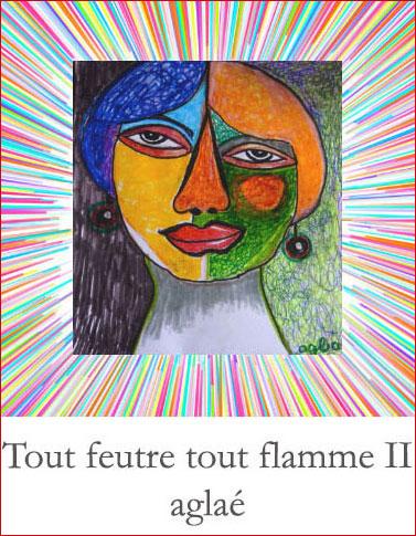 Aglaé (Pimpette) : Tout feutre tout flamme