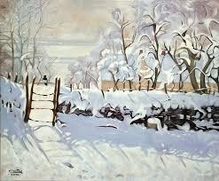 La pie de Claude Monet