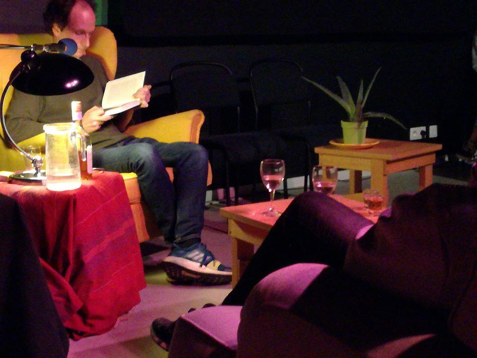 VB lit son roman, Sandrine Gatti, le vendredi 28/2/20