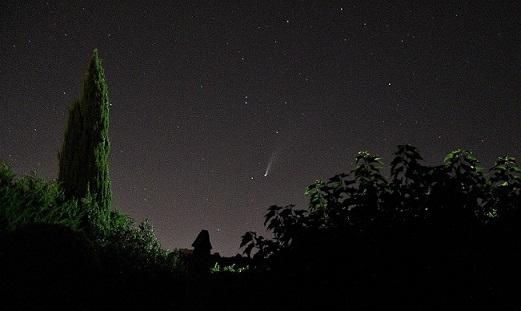 Comete NEOWISE le 18-07-2020 vers 23 HL