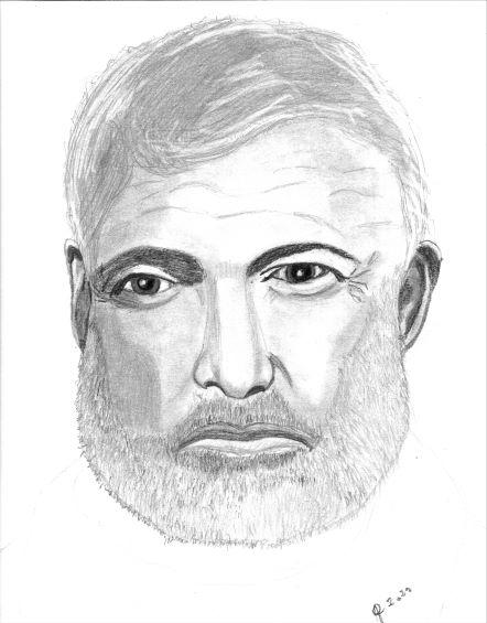 Portrait de E. Hemingway