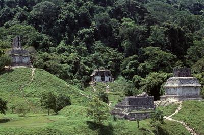Palenque, le groupe de la croix perdu dans la forêt (1985)