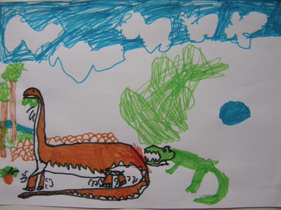S'il vous plaît... dessine moi un dinosaure