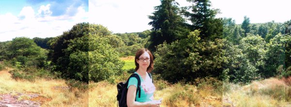 P'titephoto de Brocéliande avec ma trogne dessus