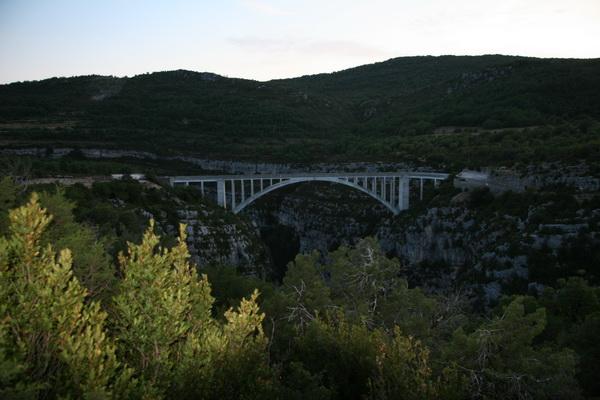 Le pont de l'Artuby