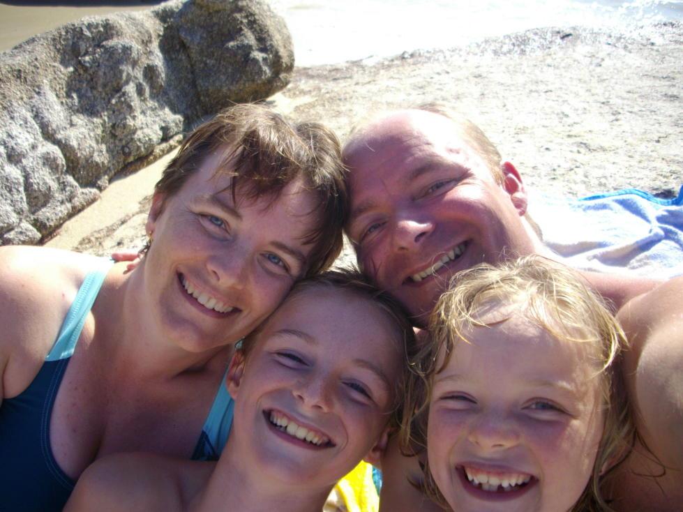 Une famille du bord de mer...