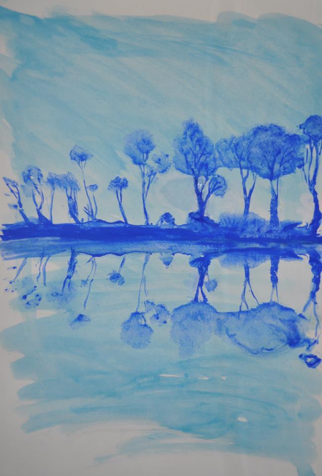 reflets bleus, nº3