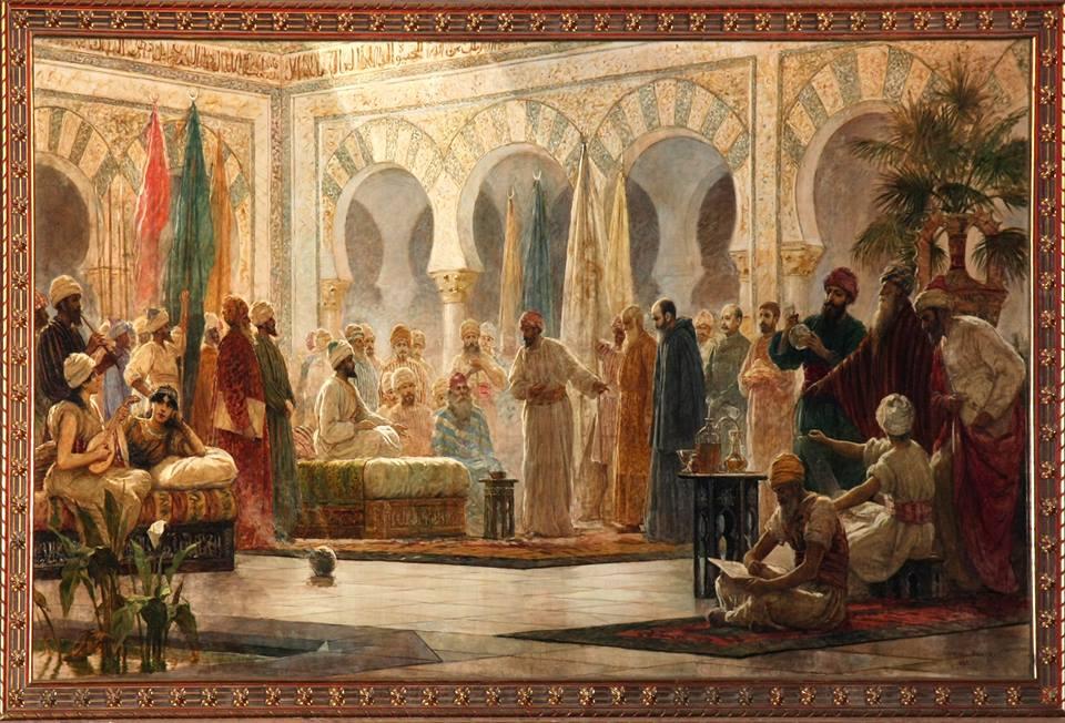 Hasday ibn Shaprut à la cour d'Abd al Rahman III