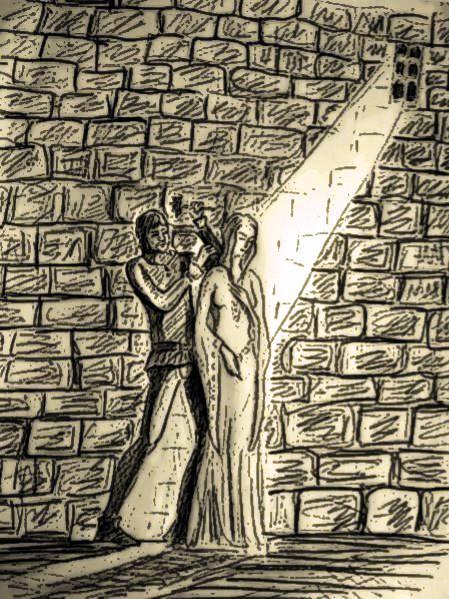 l'ange déchu, illustrations. chapitre 13
