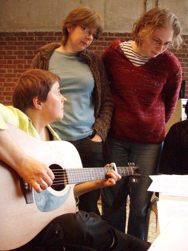 Pat, Isabelle et Maëlle