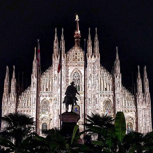 Dôme de Milan, ce soir