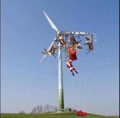 Pauvre père Noël :-(