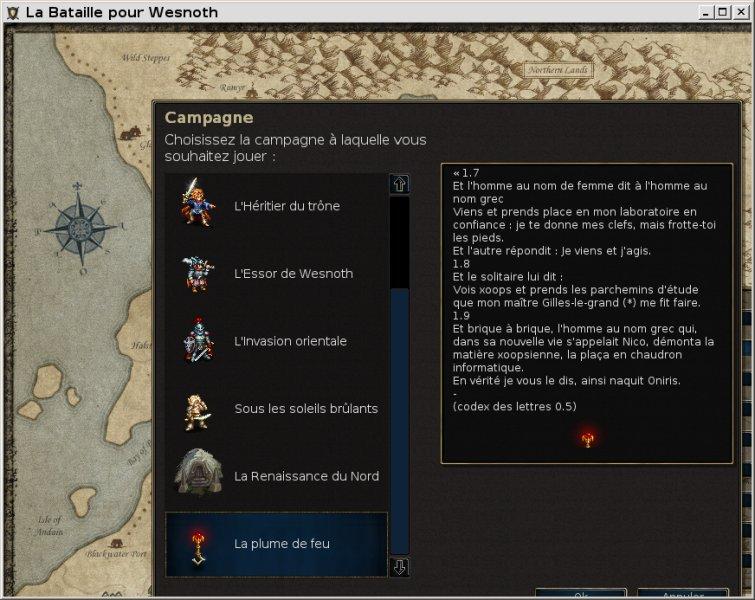 Oniris en RPG?