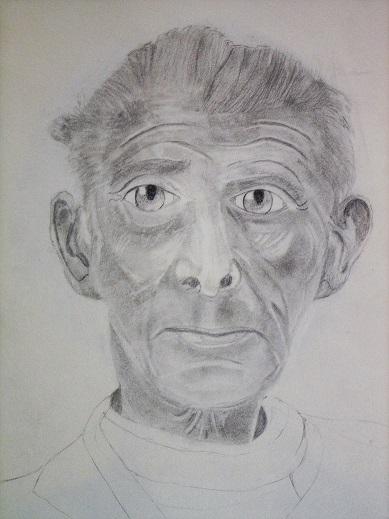 Portrait de Samuel Beckett