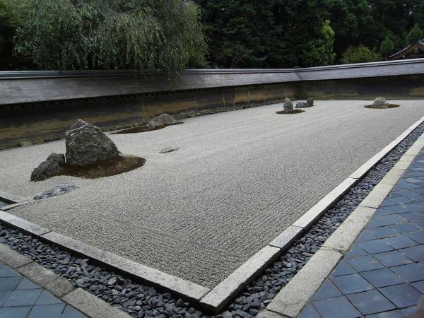 Images du monde Zen: (I) Ryoan