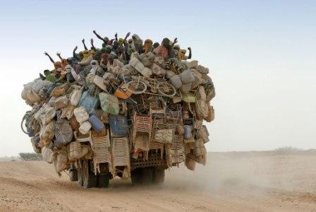 Transport en commun au Niger