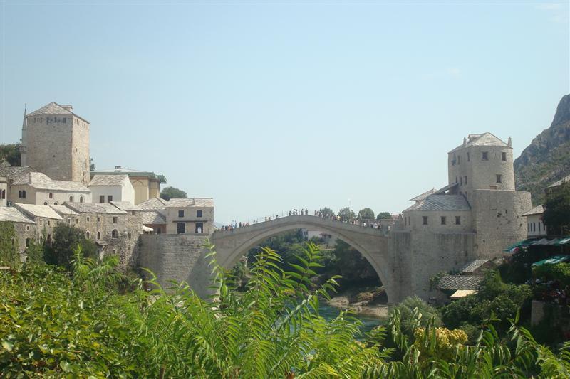 Mostar capitale de l'Herzégovine 01