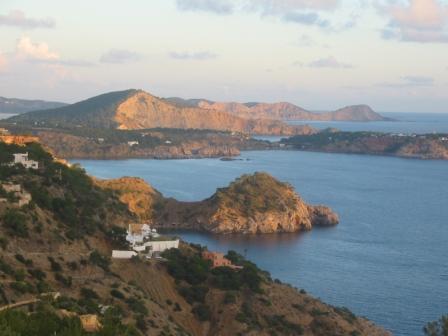 Un peu du soleil d'Ibiza par ces temps de grisaille...