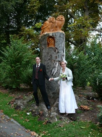 Maëlle en mariée