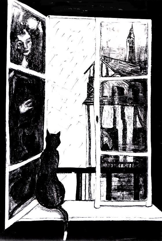 Rouen à la fenêtre
