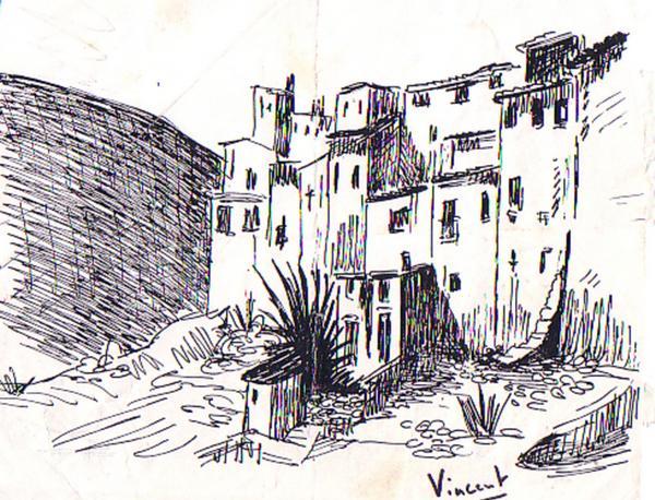 Village andalou, du côté des Alpujarras (Grenade)