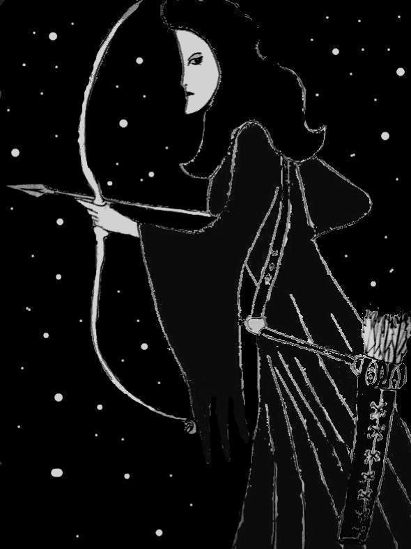 Concours mythologie : dame lune.