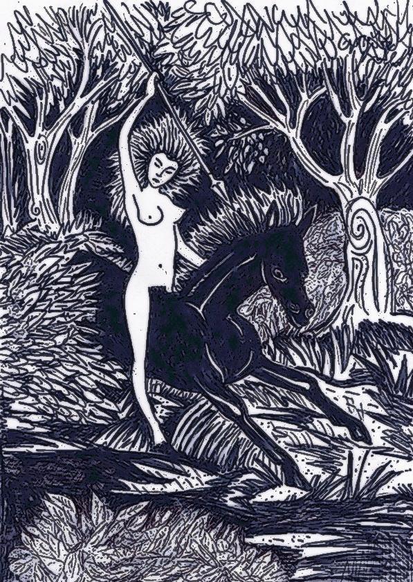 déesse de la chasse et de la nature...
