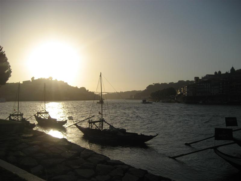 le soir sur Porto
