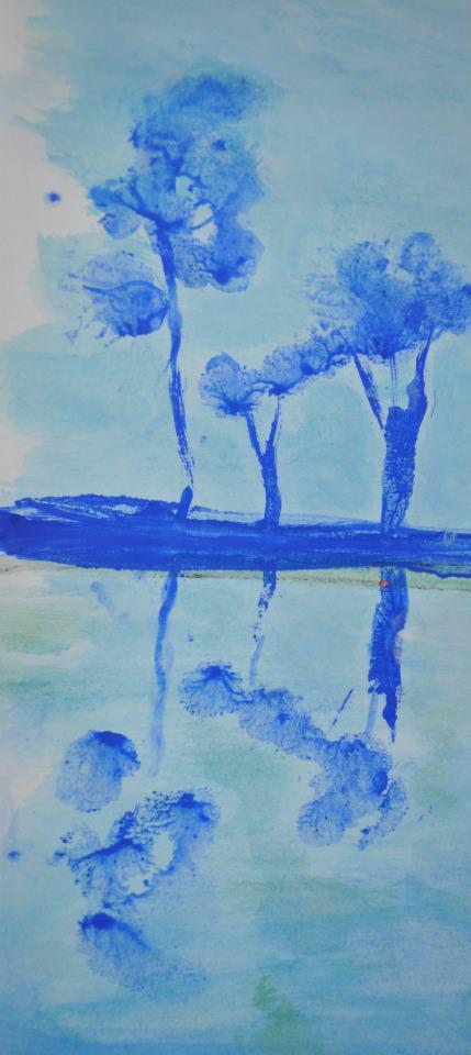 reflets en bleu nº2