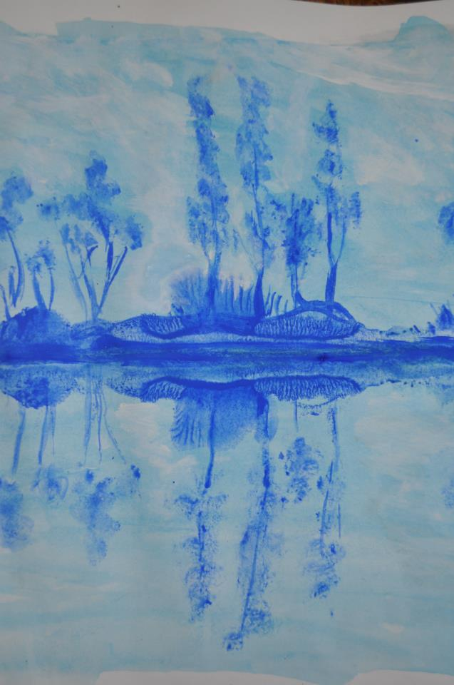 Reflets bleus, nº4