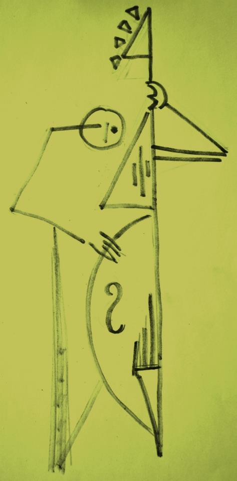 circle jazz cube, nº2: le contrebassiste