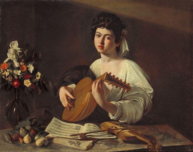 Le joueur de luth (le Caravaggio)